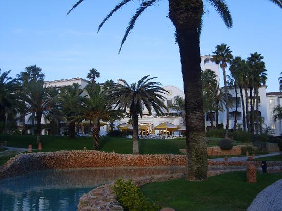 Vila Vita Parc Resort & Spa: Vue arrière de l'hôtel