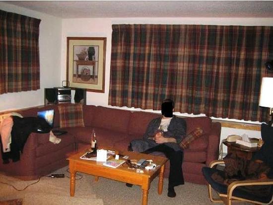 Fall Line Condominiums: Living room, getting comfortable!