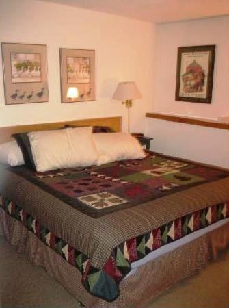 Fall Line Condominiums: Great bedroom...the bed was comfy!