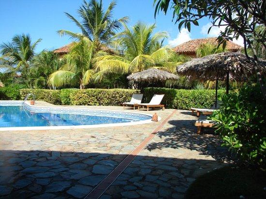 Juan Griego, Venezuela: the pool from the churuata