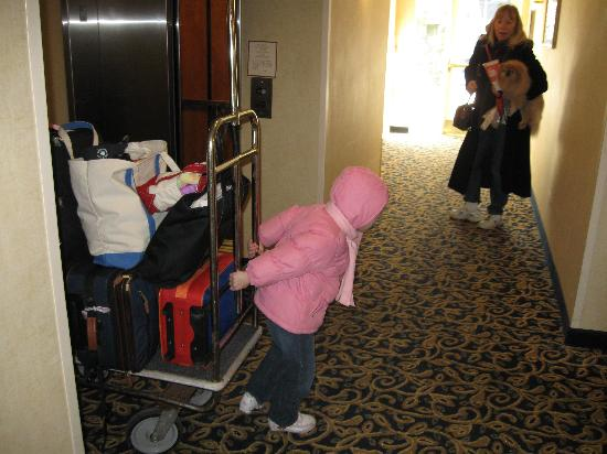 Residence Inn Saddle River : It is fun to move in