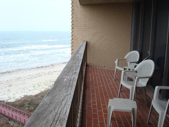 Sea Gull Condominiums: view from our balcony