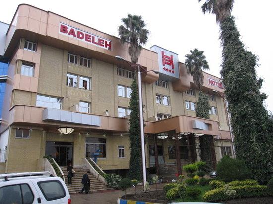 Sari, Iran: front of Badeleh hotel