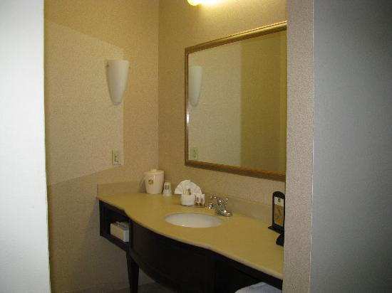 Best Western Joshua Tree Hotel & Suites : huge vanity