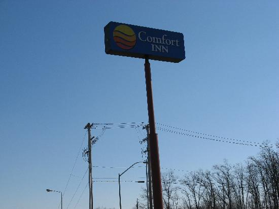 Comfort Inn Midway: Hotel sign