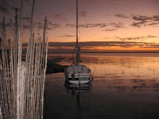 Bacalar, เม็กซิโก: from the dock at the cabana