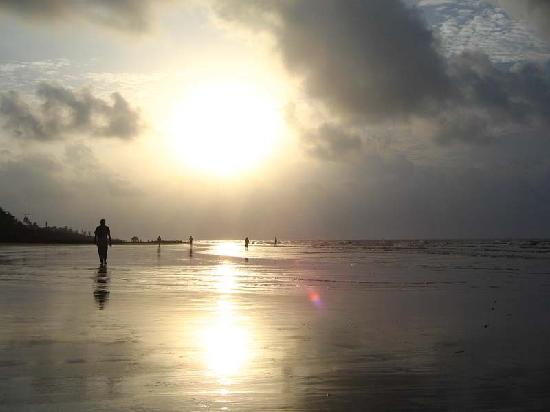 Digha, Indien: morning walk