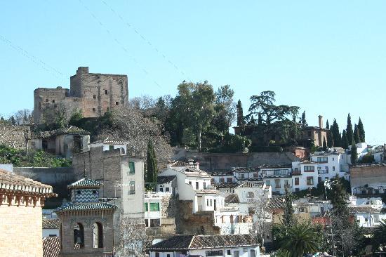 Apartamentos Muralla Ziri: vistas desde terraza atico muralla zirí