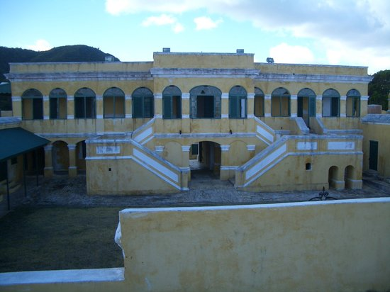 Christiansted, St. Croix: 要塞