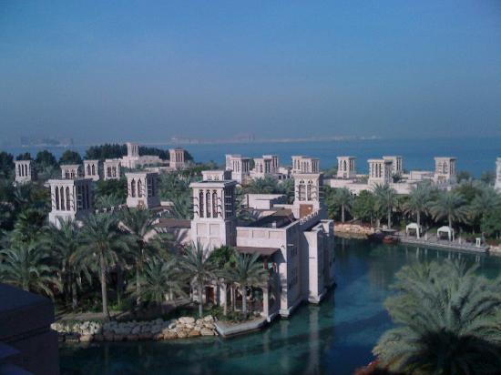 Jumeirah Al Qasr at Madinat Jumeirah : Blick vom Balkon