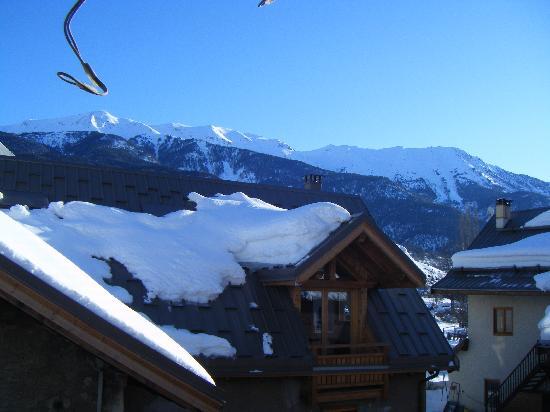 Hotel La boule de neige : vue de la chambre