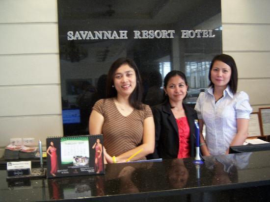Friendly Front Desk Staff Picture Of Savannah Resort Hotel