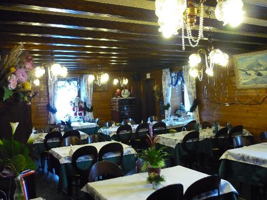 Hotel Le Chinfrey : Breakfast/Dinner Room
