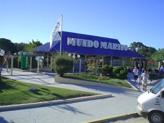 San Clemente del Tuyu, Argentina: Mundo Marino: Entrada al parque
