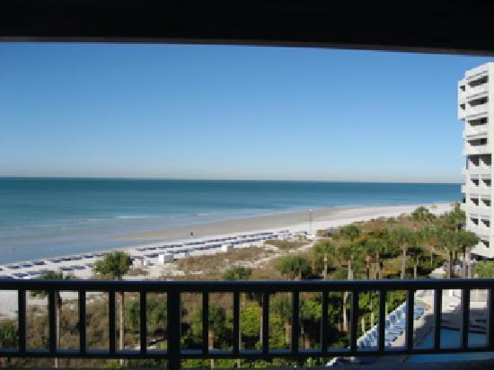 Resort at Longboat Key Club: View from balcony          Feb 09