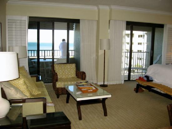 Resort at Longboat Key Club: 2 Balconies 5th floor block 2 feb 09