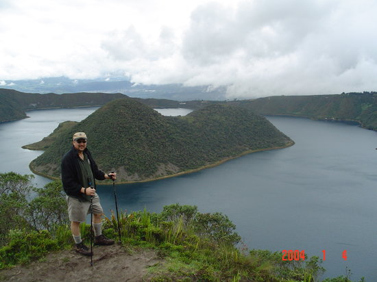 Otavalo, Ecuador: Laguna Cuicocha