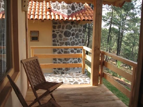 Hotel Bosque Escondido : Nuestra Terraza privada