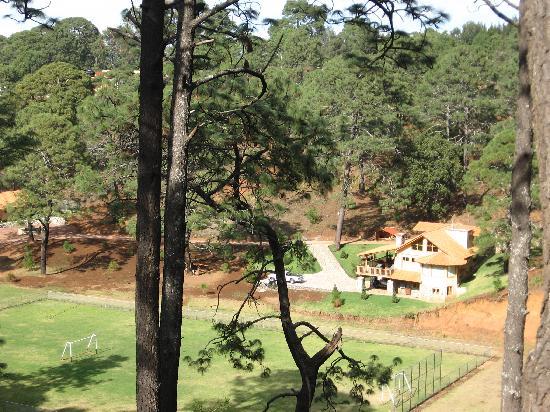 Hotel Bosque Escondido : VIsta desde nuestra terraza