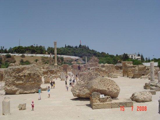 Hammamet, Tunisie: Ruinas de Carthago