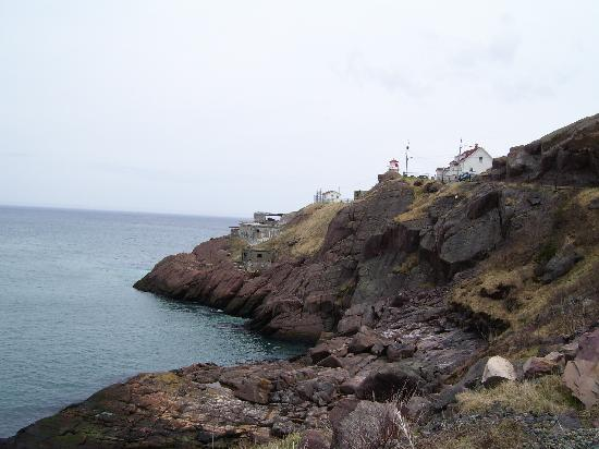 Fort Amherst Lighthouse: Approaching Fort Amherst (via a very short walk)