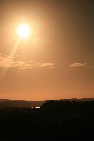 Pauatahanui, Nueva Zelanda: The sunset