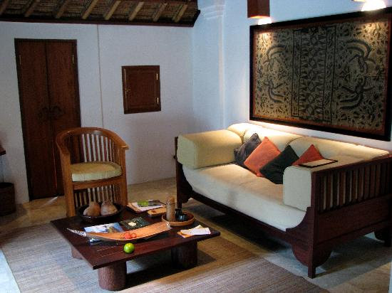 Belmond Jimbaran Puri: Living room
