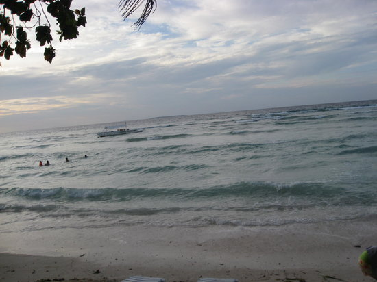Bohol Island, Philippines: ocean of Panglao, Bohol