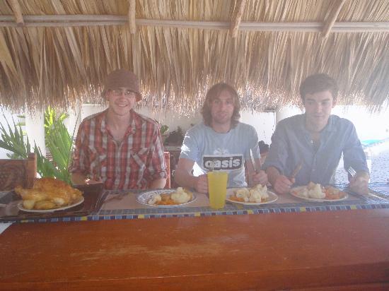 Quinta Lili: Chrimbo dinner