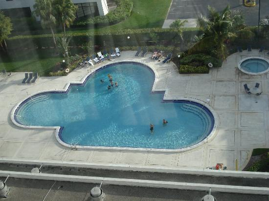 Sheraton Fort Lauderdale Airport & Cruise Port: Pool Area