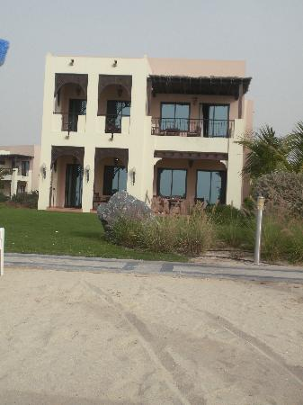 Hilton Ras Al Khaimah Resort & Spa: View of our room (upstairs to the right)