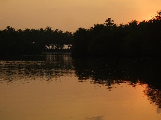 Kannur Beach House: backwaters
