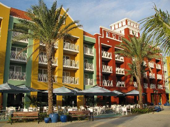 Renaissance Curacao Resort & Casino: Hotel rear view