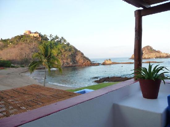 Costa Careyes: View from terrace