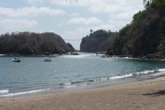 Costa Careyes: La Loma's beach