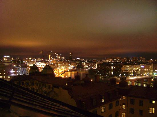 Crafoord Place: panorama notturno dall'ostello
