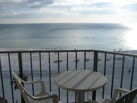 Sunbird Condominiums: This was our balcony.  Amazing View!