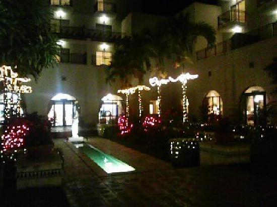 Hotel Nikko Alivila Yomitan Resort Okinawa : 中庭です。