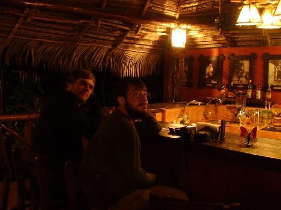 Pampa Hermosa: Tiki-bar