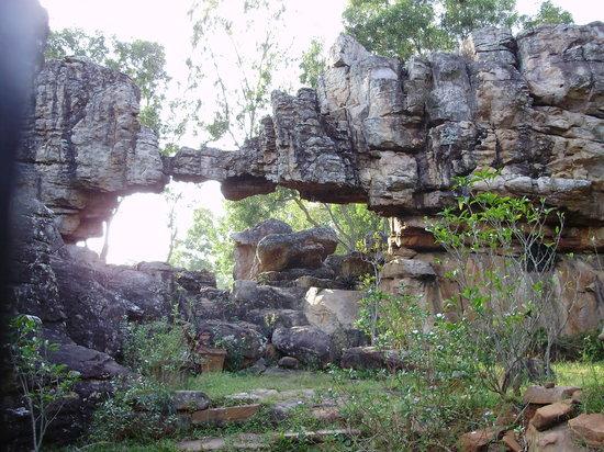 Rock garden at Tirumala, Tirupati
