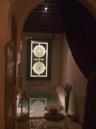 Zamzam Riad: we love this entrance view