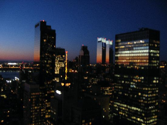 View At Night From My Window 52nd Floor Picture Of The