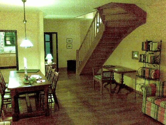 Gutshaus Stolpe: Dining area of Fritz Reuter-Suite