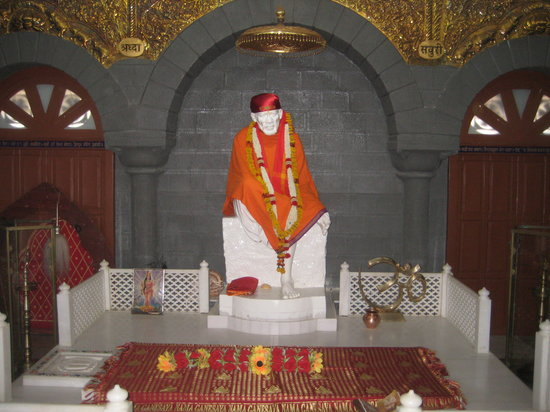 Shirdi, India: Sai Meditation Hall in Sai Sahavas