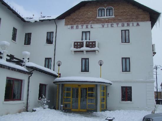 Rivisondoli, Italia: Esterno dell' Hotel
