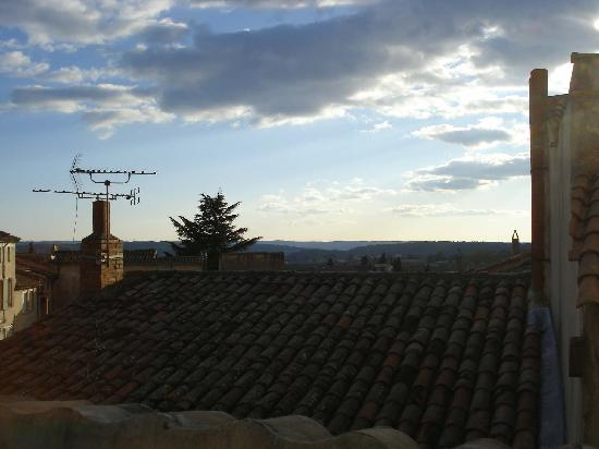 Hostellerie Provencale : View from the roof terrace