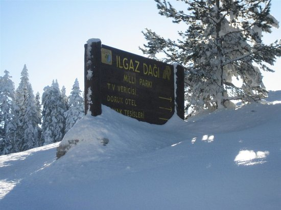 ilgaz mountain national park and ski center, 49km south of Kastamonu