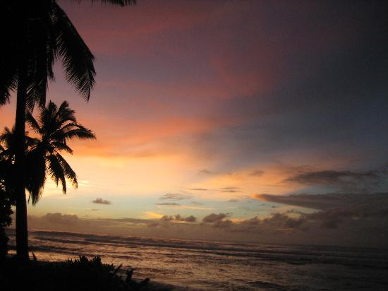 Cocos (Keeling) Islands: sunset