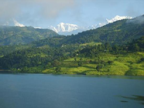 Begnas Lake Resort: View from every room. :-)
