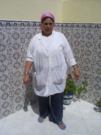 Oualidia, Marrocos: l'adorable Rhadija